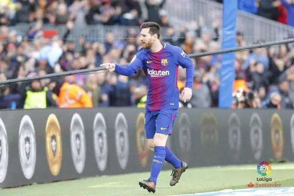 Super Eagles Foe Messi Scores As Celta Vigo Hold Barcelona