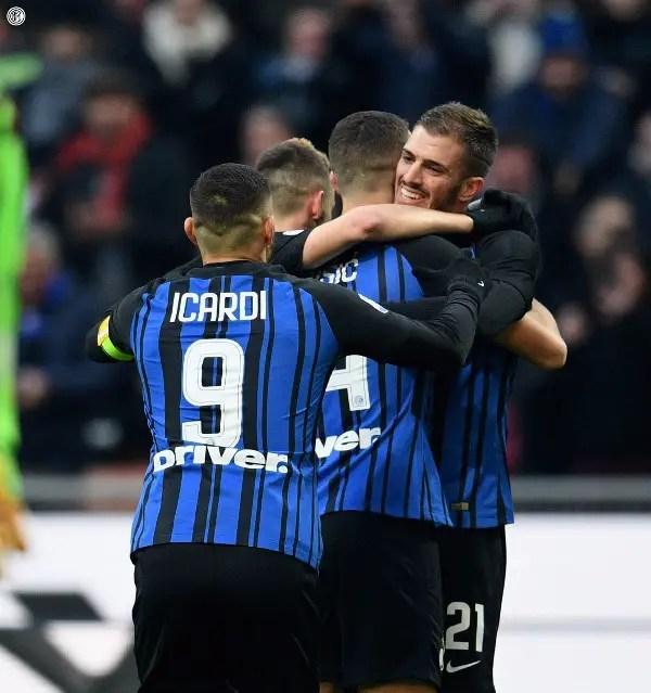 Croatia's Perisic Nets Hat-trick, Argentina's Icardi Scores As Inter Trounce Chievo