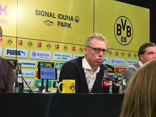 Borussia Dortmund Sack Bosz As Coach, Appoint Stoeger