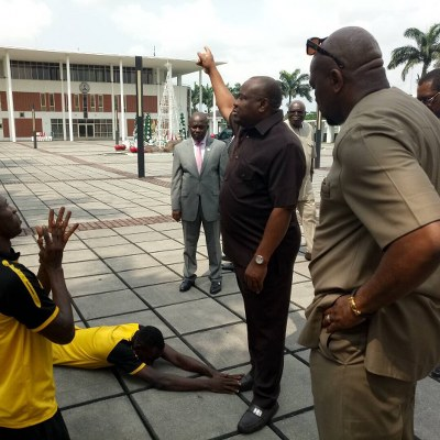 Rivers United Captain: Why We Apologised To Wike After Protest