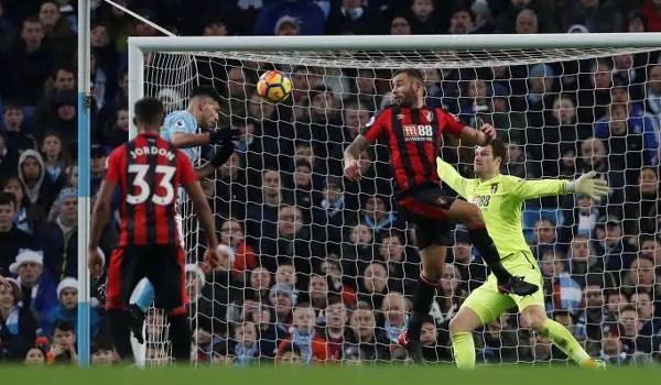 Aguero Reaches Milestone As Man City Extend Lead; Stoke, Brighton, Newcastle Win