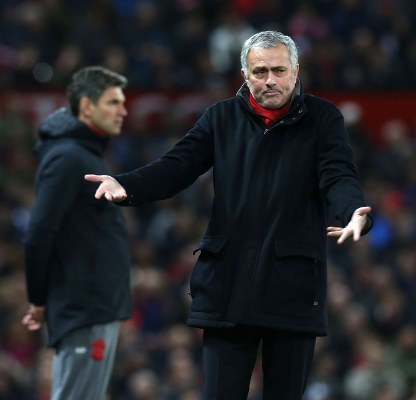 """Mourinho """"Happy"""" With United Players, Blames Ref For Southampton Draw, Rules Lukaku Out"""