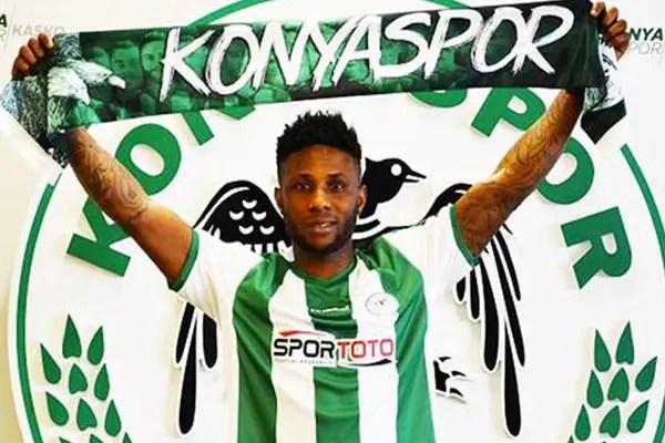 Konyaspor Set To Part Ways With  Imoh Ezekiel