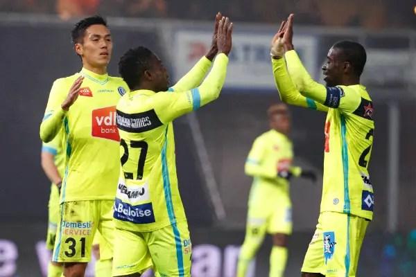 Round-Up: Simon Scores, Esiti Sent Off In Gent Win; Omeruo, Eduok, Etebo Lose