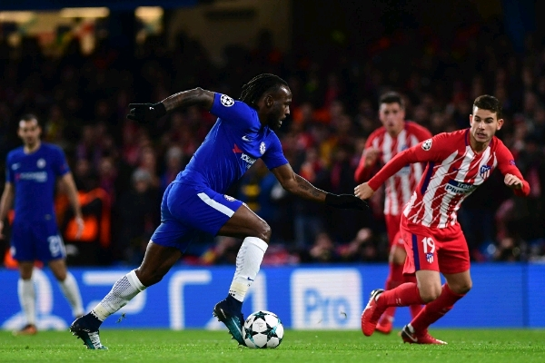 Moses 'Disappointed' Over Chelsea Draw Vs Atletico Madrid