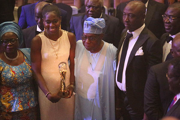 "Omeruo Celebrates ""Star Girl"" Oshoala's Aiteo CAF Best Player Award"