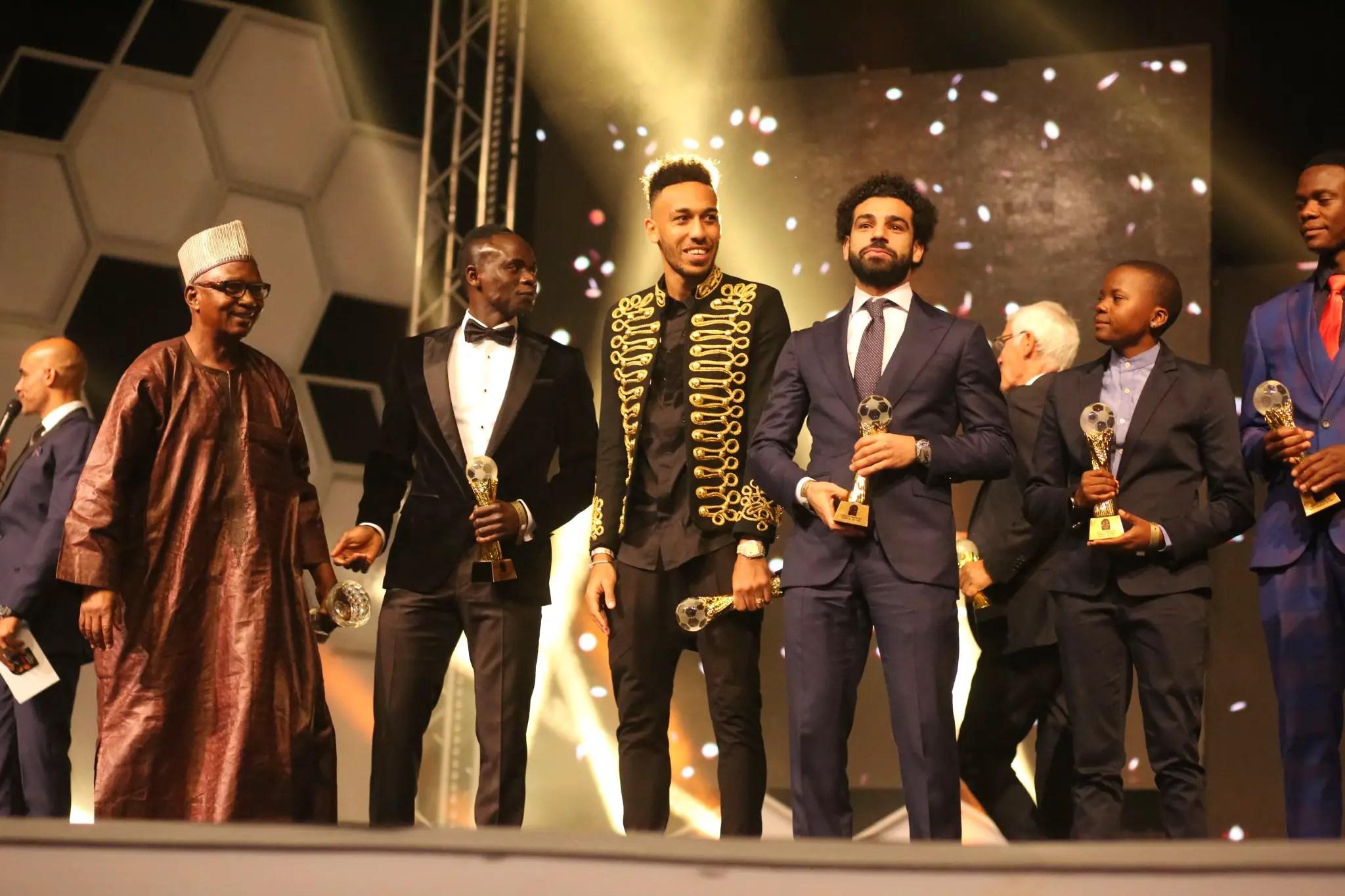 Salah, Oshoala Win 2017 Aiteo CAF Best Player Awards; Cuper Beats Rohr