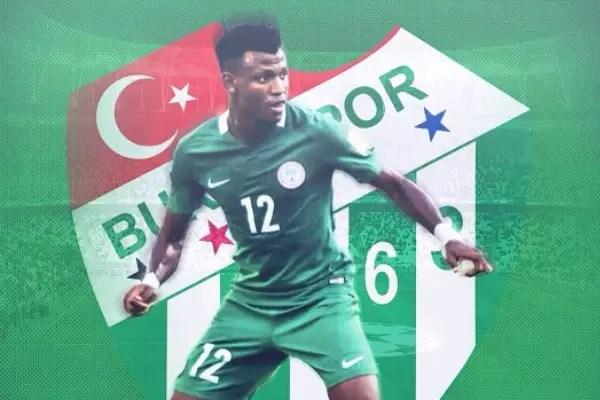 Abdullahi: I'm Glad To Become Bursaspor Player