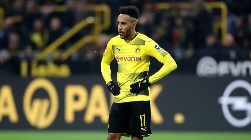 Dortmund Drop Aubameyang From Hertha Berlin Trip As Arsenal Rumours Persist
