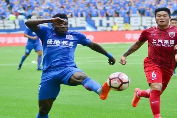 Martins Can't Save Shanghai Shenhua In Chinese Super Cup Vs Guangzhou