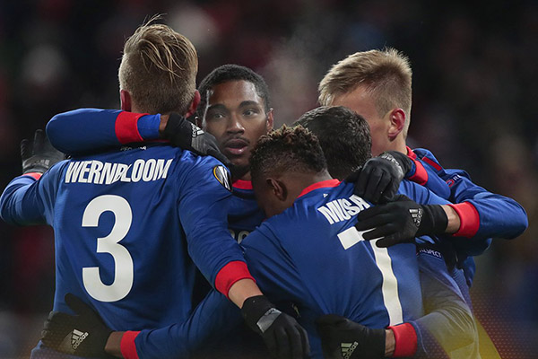Europa: Musa Stars As CSKA Moscow Advance Past Red Star Into R16