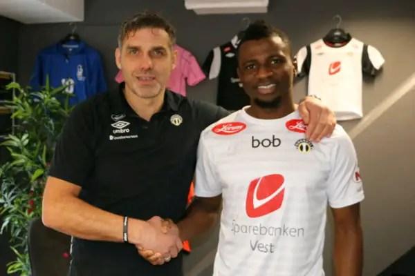 Nigerian Defender Latifu Joins Norwegian Club Sogndal