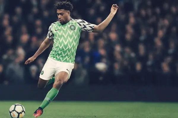 Iwobi, Abdullahi Happy With Super Eagles 2018 World Cup Kits