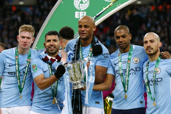 Carabao Cup: Iwobi On As City Thrash Arsenal For Guardiola's First English Trophy