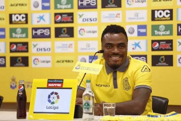 Emenike: Why I Joined Las Palmas