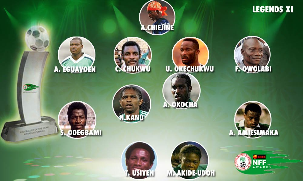 """Eguavoen """"Feels Great"""" To Be Included In Controversial NFF Legends XI"""