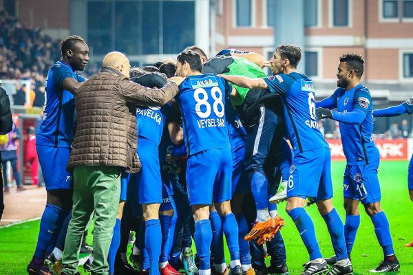 """Omeruo Delighted With Kasimpasa's """"Great Victory"""" Over Galatasaray"""