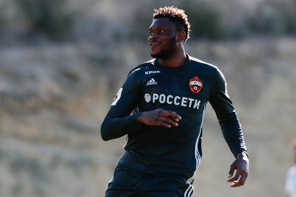CSKA Moscow Confirm Samuel's Loan Move To Idowu's Amkar Perm
