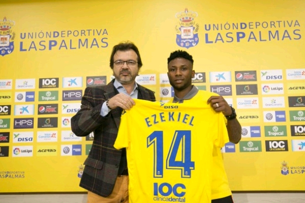 """Ezekiel Eager To Play In """"World's Best League"""" With Las Palmas"""