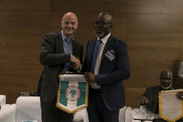 Infantino Hails NFF, Opens Up On VAR At Russia 2018, African Side Winning World Cup