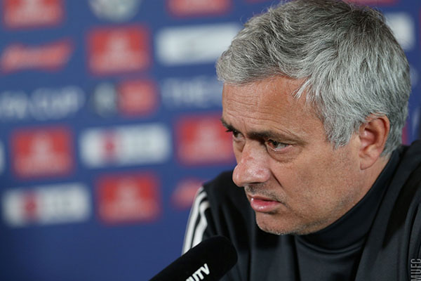 """Mourinho Attacks Media Over Pogba """"Lies"""", Welcomes Back Bailly, Eyes Second FA Cup Trophy"""