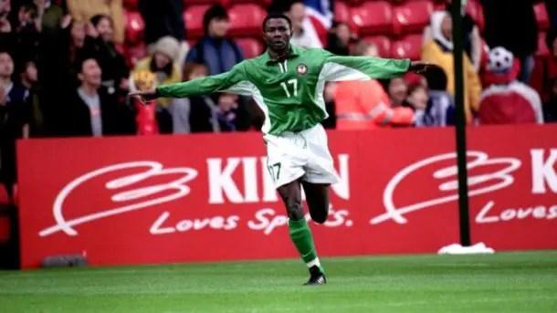 NFF Celebrate Ex-Super Eagles Star Aghahowa At 36