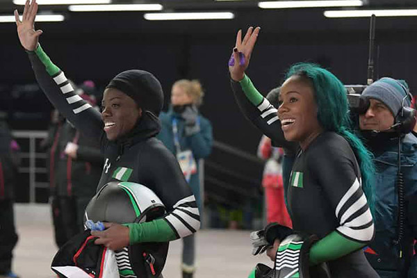 Winter Olympics: Historic Nigeria Bobsled Team Finish In Last Place; Germany Win Gold