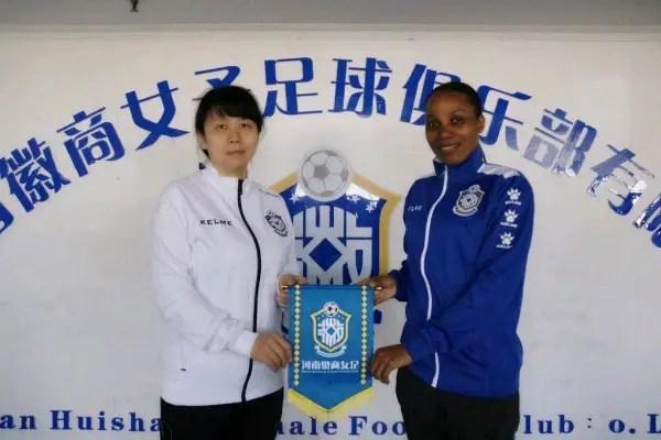 Super Falcons Star Ebi Joins Chinese Club Henan Huishang