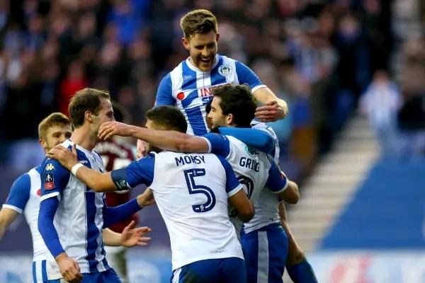 Wigan Stun 10-Man City In FA Cup Clash