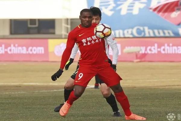 China: Ighalo Plays Down Changchun Yatai Penalty Miss