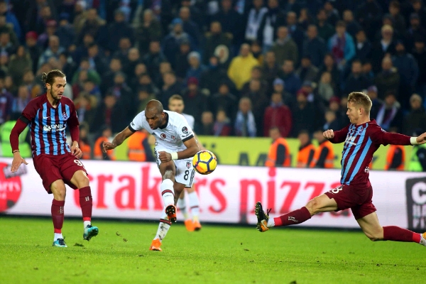Onazi Benched As Babel Double For Besiktas Sinks Trabzonspor