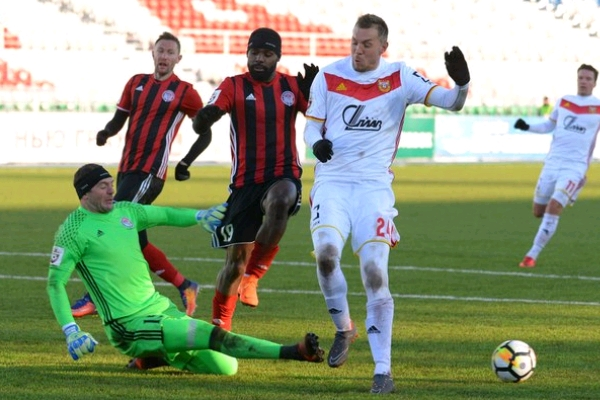Ogude Sent Off; Idowu, Samuel In Action As 9-Man Amkar Perm Lose At Home
