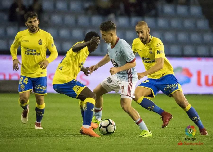 Etebo Bags Assist But Can't Save Las Palmas At Celta Vigo