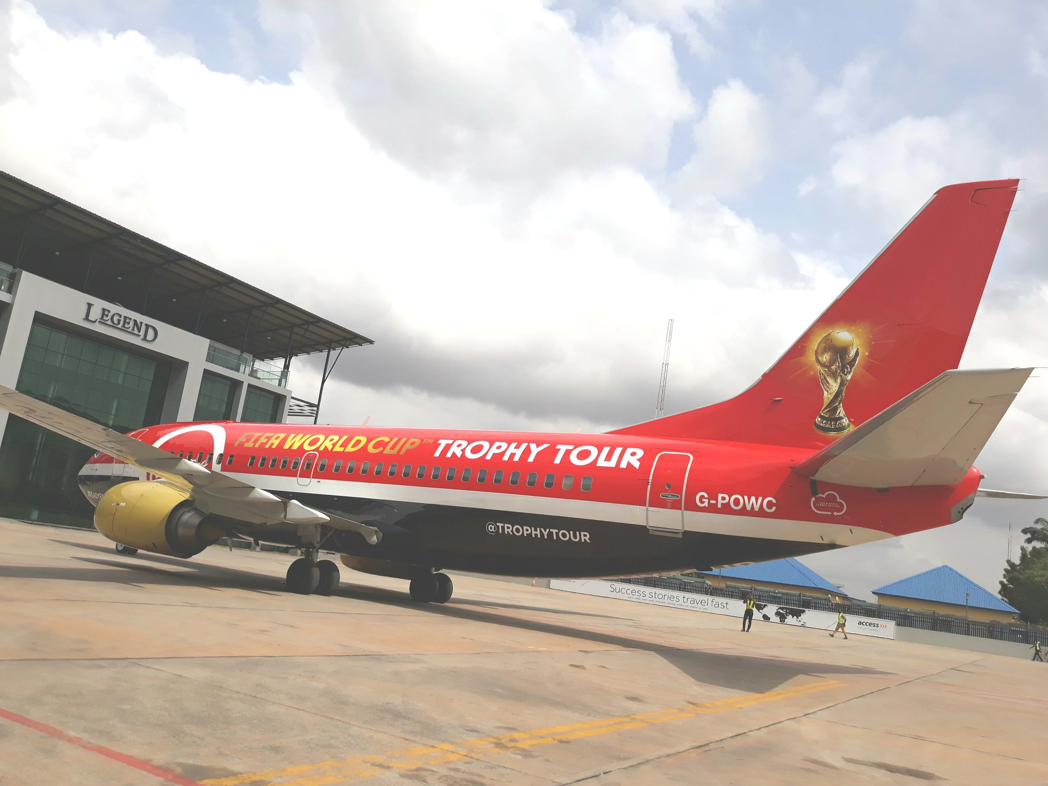 FIFA World Cup Trophy Tours Lagos In Style