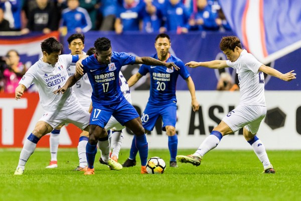 Martins Can't Save Shanghai Shenhua From Champions League Home Defeat
