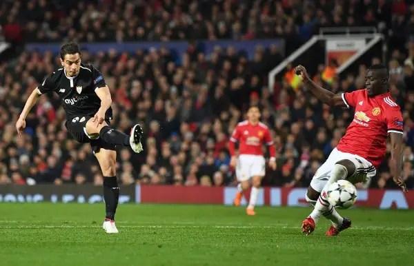 UCL: Sevilla Stun Man United At Old Trafford As Roma Advance Past Shakhtar