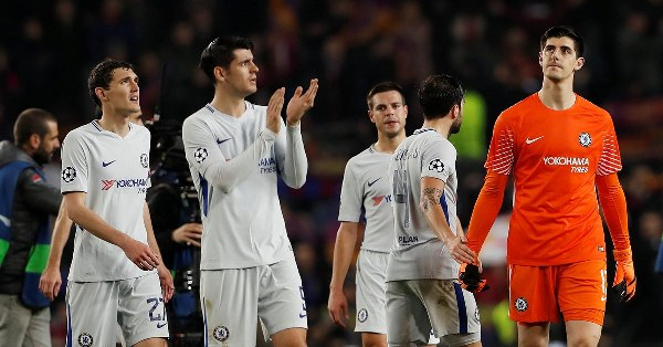 Courtois: We Lost To Barcelona Due To Individual Errors