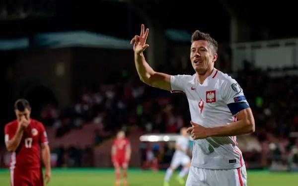 Lewandowski To Spearhead Poland's 3-4-2-1 Formation Vs Super Eagles