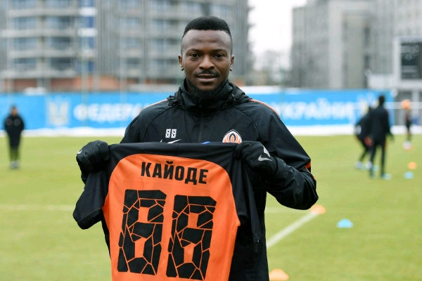 Kayode Targets Goals, UCL With Shakhtar, Declares: I'm Not Like Aghahowa