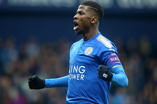 Iheanacho Grabs Second Pre-Season Goal For Leicester  City Vs Valencia, Ndidi Also In Action