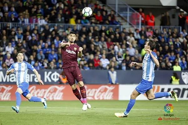 Ideye, Success In Action As Messi-less Barca Beat 10-Man Malaga