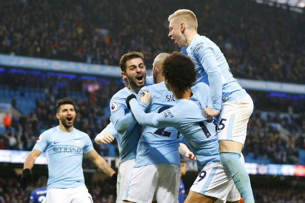 Moses In Action As Dominant Man City Beat Chelsea