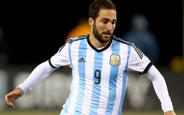 Higuain: Spain, Italy good test Argentina's W/Cup preparations