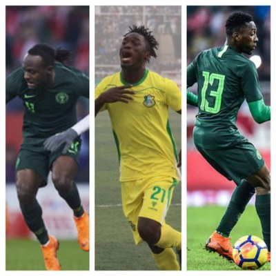 Moses, Lokosa, Ndidi Up For Complete Sports March Player Of The Month