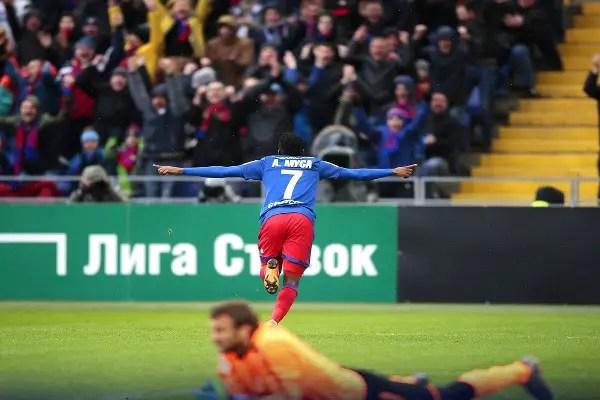 Musa Hits Brace In CSKA Moscow Win Over Krasnodar