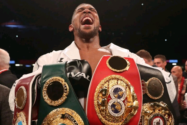 Joshua To Rivals: I'm The Number One Fighter In The World