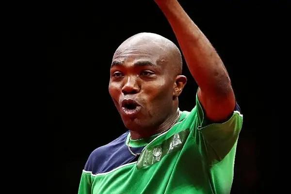 Abiodun Qualifies For Men's Table Tennis Singles Round Of 32