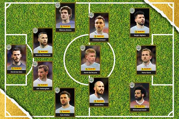 Man City Stars Dominate PFA EPL Team Of The Year
