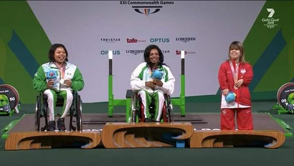 Gold Coast 2018: Nigeria Win Three Gold, Two Silver In Powerlifting, Set World Record
