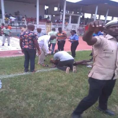 NPFL: Heartland Defend Fans' Attack On Referee Garba